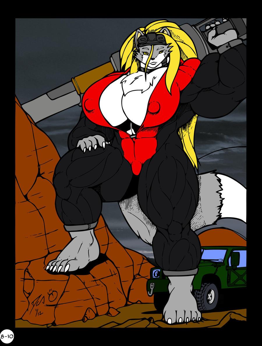 DocWolph: Warwolf Rising by XennyDiemes