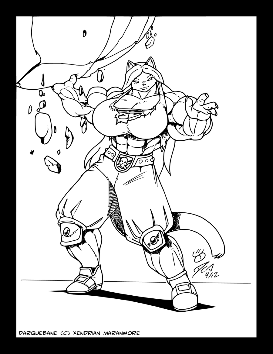 DocWolph: Boulder Toss by XennyDiemes