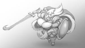 Thorstone: Magnhildr Attacks