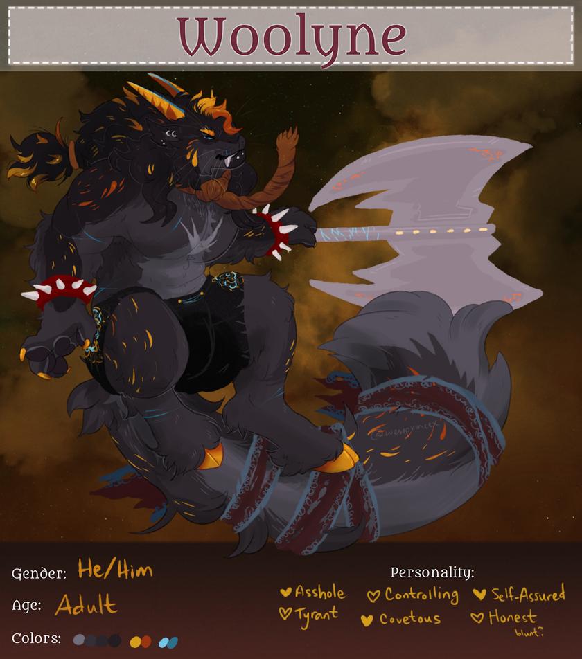 Tyberien Rex [Woolyne Reg] by Wereprincex