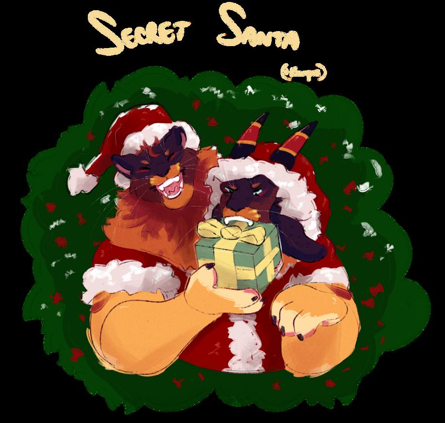 Woolie Secret Santa reminder by Wereprincex