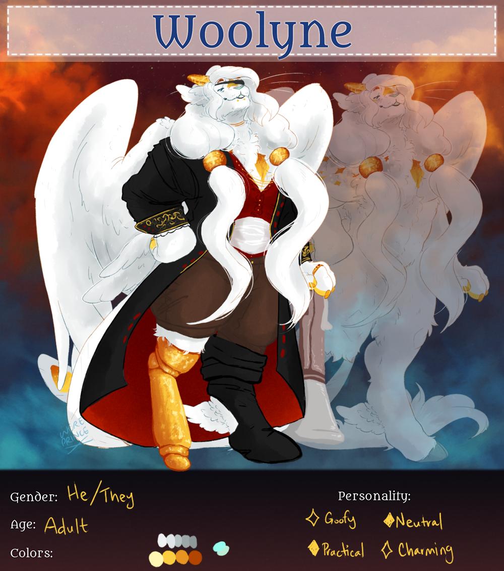 Raziel Denzel [Woolie Reg] by Wereprincex