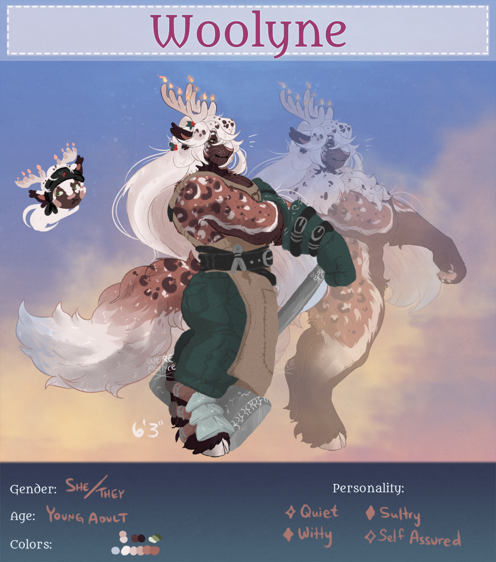 Lanisse [Woolyne Reg] by Wereprincex
