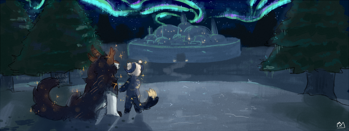 Moments with You [Winter Solstice Prompt] by Wereprincex