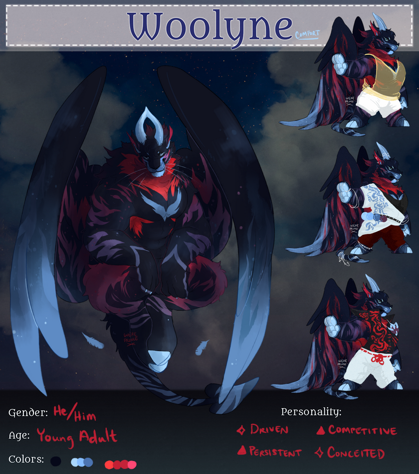 King [Woolyne Reg] by Wereprincex