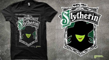 It's not easy being green on Qwertee by Arsnoctis