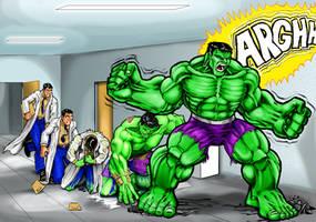 hulk transformation by Henry7