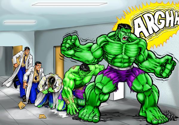 hulk transformation by Henry7 on DeviantArt