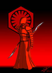 Supreme Leader Snoke guard by fantasiaart93