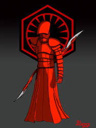 Supreme Leader Snoke guard. by fantasiaart93