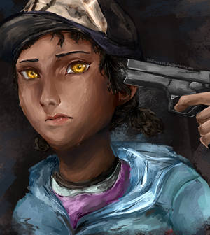THE WALKING DEAD: Clementine - Pull the Trigger...