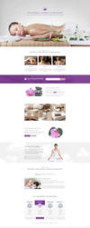 WellnessCenter and Spa Landing Page by themeinjection