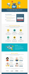 Online Course Landing Page by themeinjection