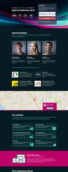 Conference Landing Page by themeinjection