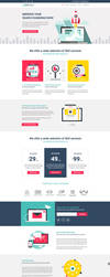 SEO Service Landing Page by themeinjection