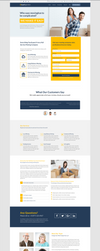 Move - A Landing Page for Moving Companies by themeinjection