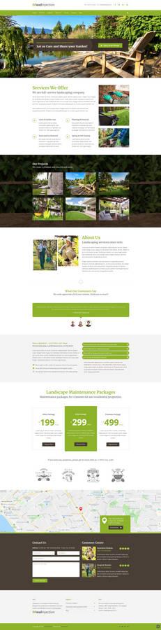 Landscape Landing Page