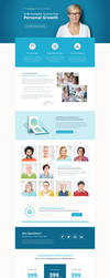Business Coach Landing Page by themeinjection