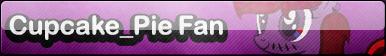 (R) MLP Cupcake Pie Fan Button (1/3)