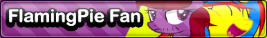 (R) MLP FlamingPie Fan Button by Starry--Buttons
