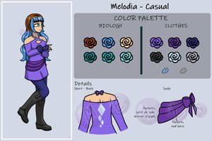 Unknown, But Not Alone: Melodia - Casual by Lunarcentric