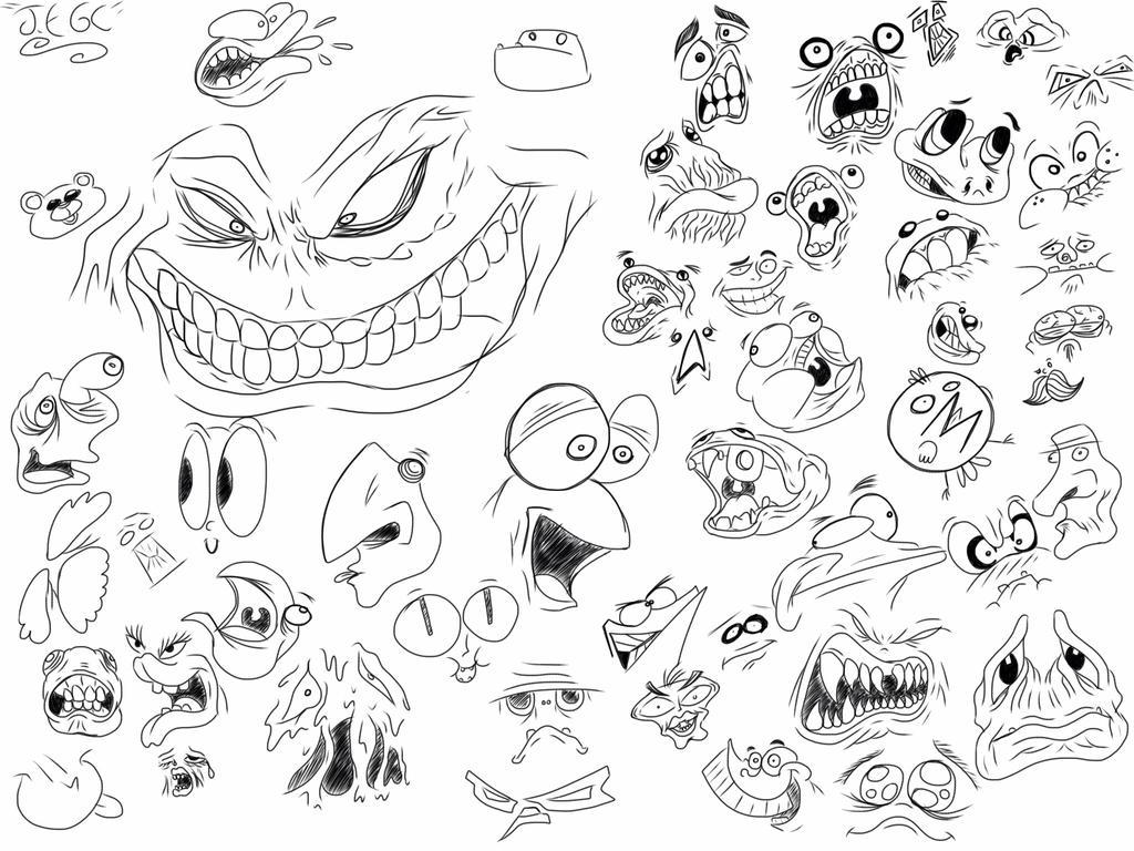 Faces by jjjjoooo1234