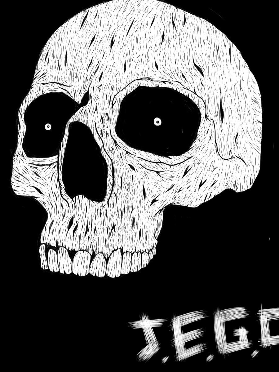 Rusty skull by jjjjoooo1234