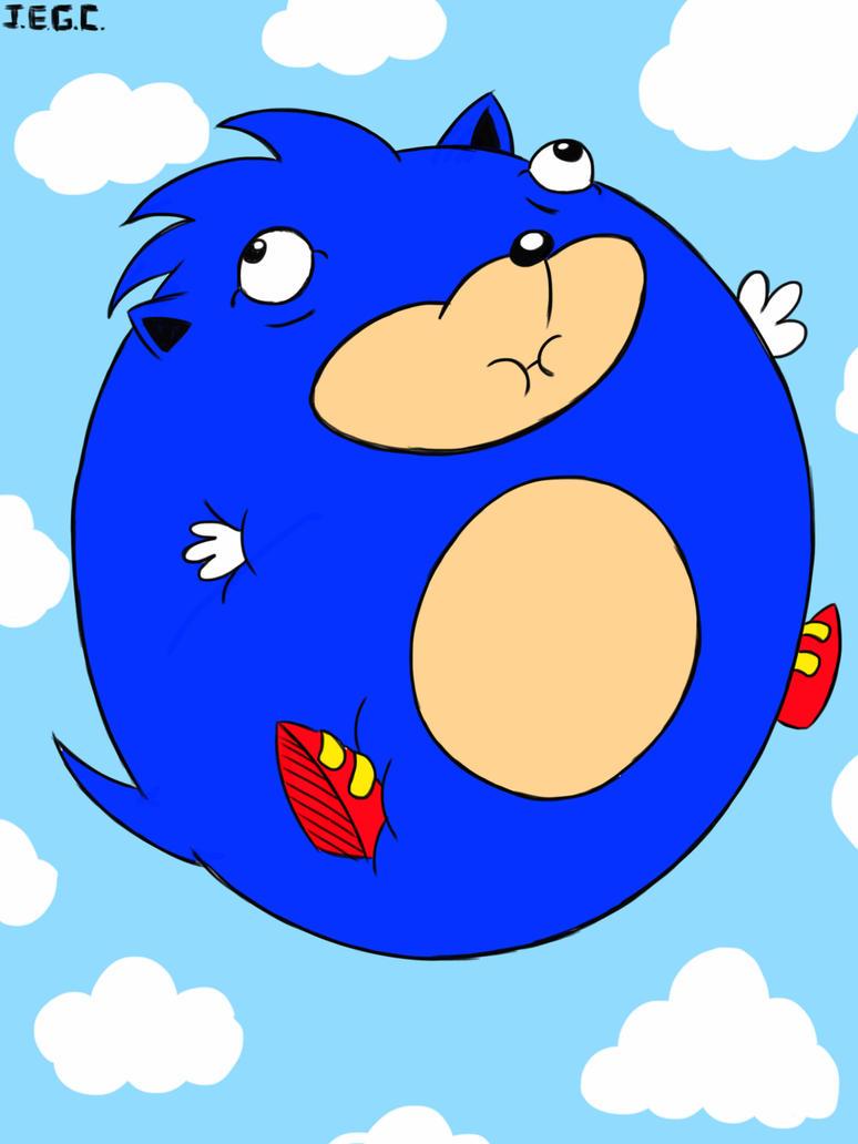 Sonic the ballon  by jjjjoooo1234