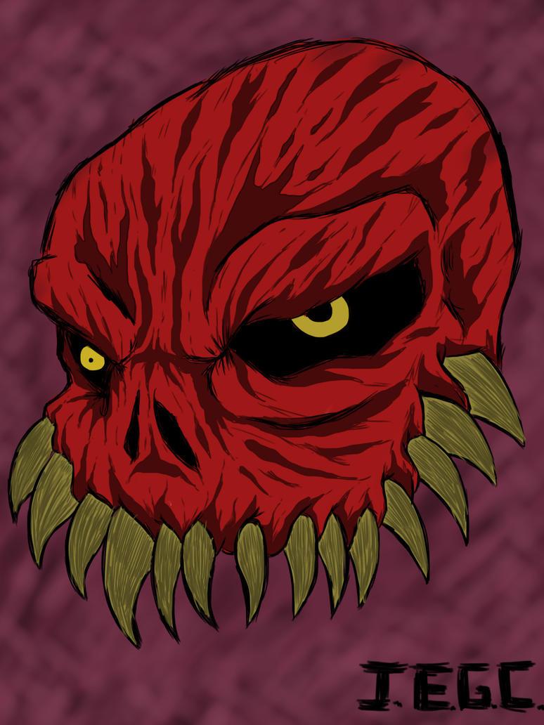 Red skull by jjjjoooo1234