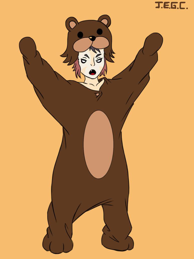 Wilykit in bear pijamas by jjjjoooo1234