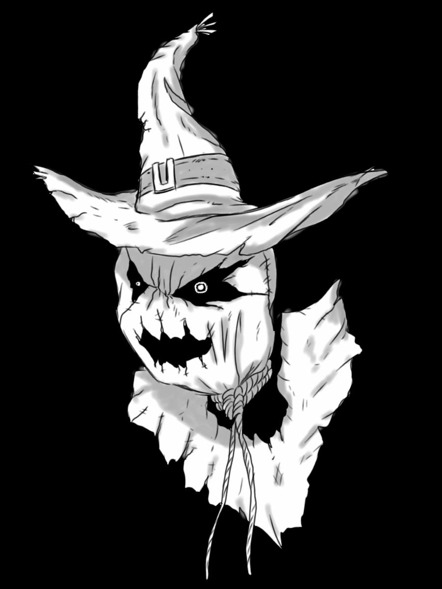 The scarecrow  by jjjjoooo1234