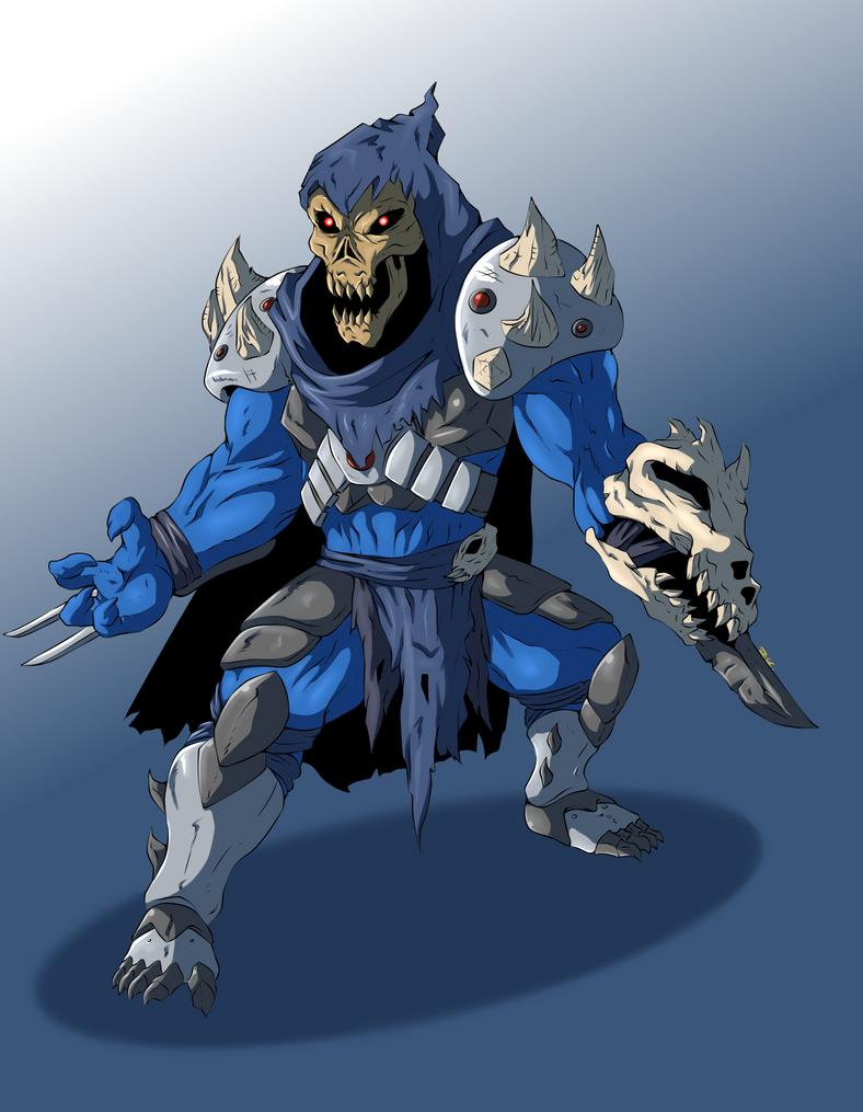 Skeletor x shredder fusion by jjjjoooo1234