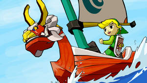 windwaker wallpaper by kez-muff