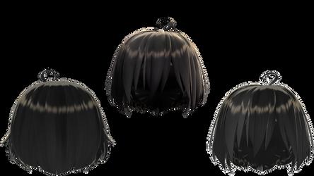 {DOWNLOAD}  hair edit? :v [MMD]