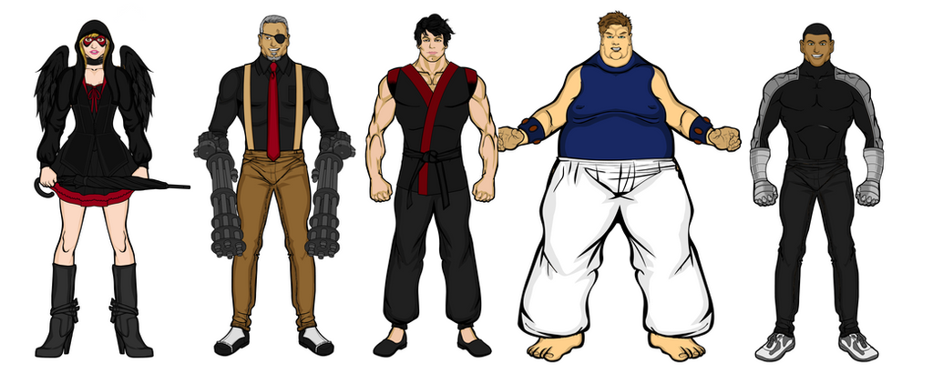 The Yuasa Terror Clan by aniartluke82