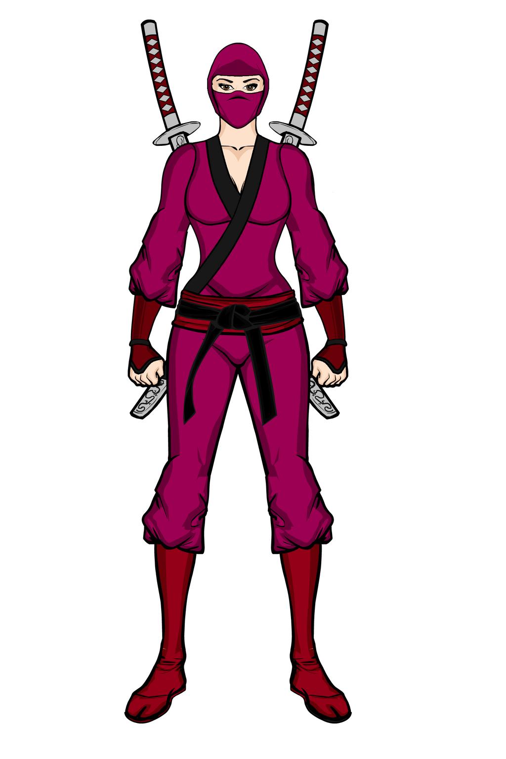 Elie Hanamura (Comic)- Traditional Ninja Outfit(1) by ...