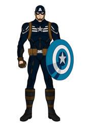 Captain America (Stealth Suit)(Heromachine)