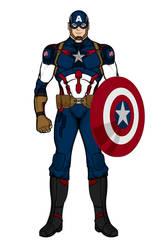 Captain America- Mark II (Heromachine)