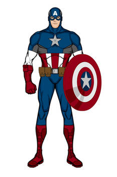 Captain America- Mark I (Heromachine)