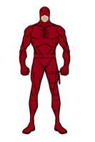 Daredevil (Heromachine)(Classic) by aniartluke82