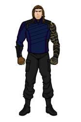 Bucky Barnes (Heromachine)(Infinity War)