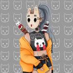 .: 014 :. Killer cat lady by PlushieLemon