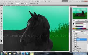 Painting WIP -o- by siren-studios