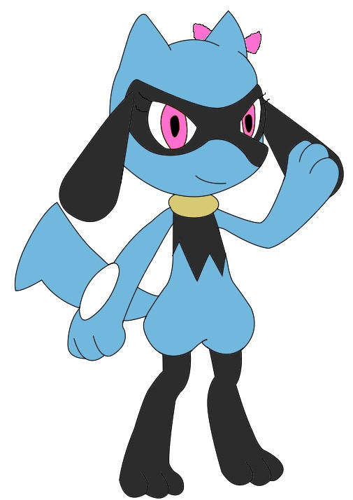 Tia the Riolu