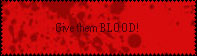 Give them blood 1 stamp by Inuyoujo