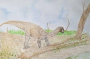 Massospondylus by zachrobinson