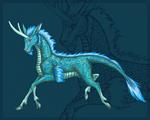 Greenish-blue Kirin