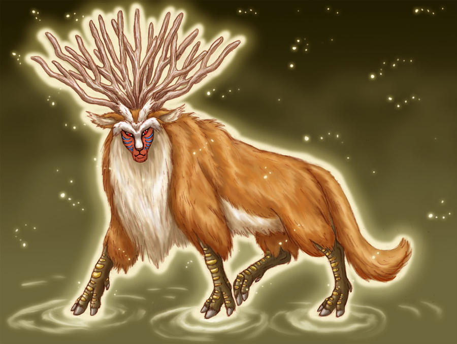 Great Forest Spirit By Lizzy23 On Deviantart