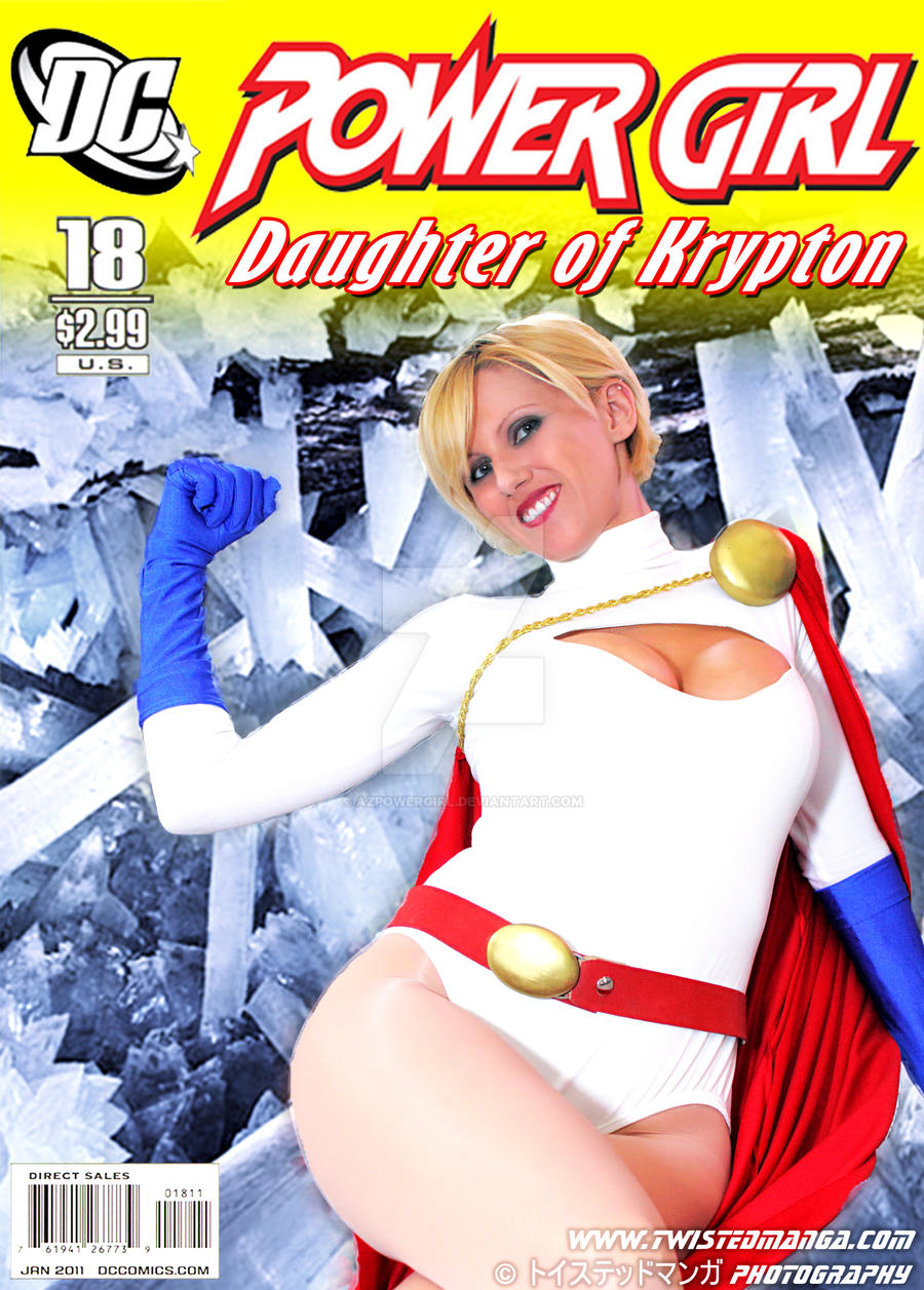 Comic Cover by AzPowergirl