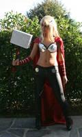 ThorA cosplay_Standing by AlyTheKitten
